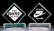 The newest members of the Airflyte family are acrylic awards. Hand-polished, cast acrylic awards are the hottest recognition awards introduced in years. All acrylic awards can be engraved with logos or artwork to fit any recognition program.