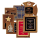 Airflyte is America's favorite recognition award. Since the introduction of the first Airflyte plaque in 1985, the Airflyte design has been the leader in the field of corporate recognition. Airflyte plaques are produced from solid American walnut or cherr