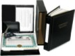 Our corporate kits are designed to keep all your important documents secure. They come with engraved pocket seals ,a padded seal pouch, index dividers & more.