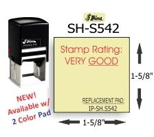 Shiny S-542 Self-Inking Stamp
