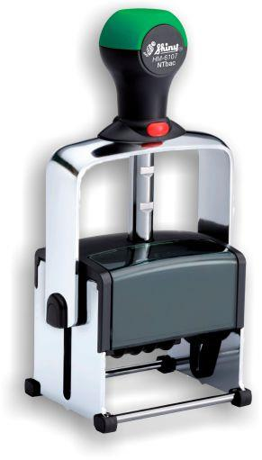 Shiny® Model HM-6107 Heavy Metal Self-Inking Dater