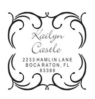 Square Address Designs