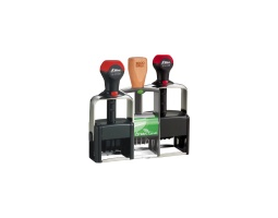 Shiny® Heavy Metal Line Self-Inking Daters