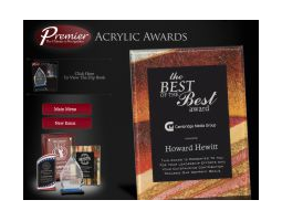 Premier Acrylic Awards<img src='/images/Categories/NEW!_star_graphic_30pxl.png' />