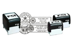 Notary Seal PSI™ Stamps