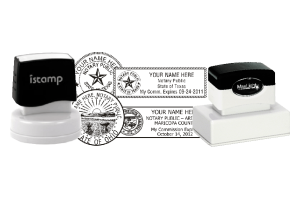 Notary Seal Preinked Stamps