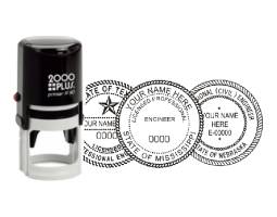 Architect & Engineer Seal Traditional Selfinking Stamps