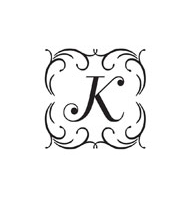 CS-70016 - Custom Square Monogram Stamp - CS-70016