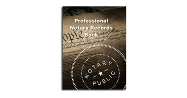 Notary Record Book. Can be used in all 50 stamps.