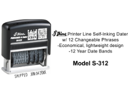 S-312 - Shiny S-312 Micro Message Dater
