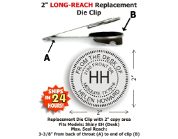 (PLEASE NOTE: this product requires a Shiny® HD Long-Reach seal desk frame to function properly and is NOT intended for standalone use. There are a variety of seal frame brands on the market. This dieholder is designed for use in the Shiny® HD frames only