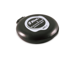 Special release agent soaked pad in convenient clamshell container. Simplifies wax seal stamping.