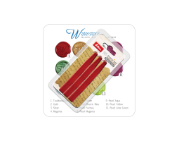Waterstons approved sealing wax available in 11 of our favorite colors, including the popular traditional red.