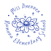 Designer Stamp for Teachers