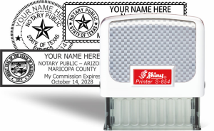 Traditional Self-Inker  Notary & Professional Hand Stamps