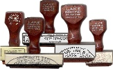Traditional Rubber Handstamps