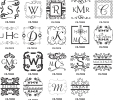 Monogram Stamps - Square