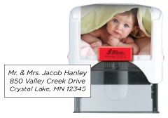 Personal Printer<BR>Up to 5 lines of personalized information.