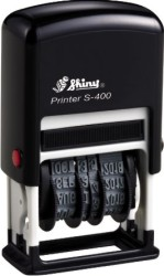 Shiny S-400 Self-Inking Dater