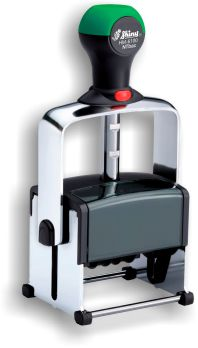 Shiny® Model 6100 Heavy Metal Line 15/16in. X 1-5/8in. Self-inking Dater