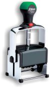 Shiny HM-6101 Heavy Metal Self-Inking Dater with a 1-1/4in. X 1-1/2in. Impression Area.