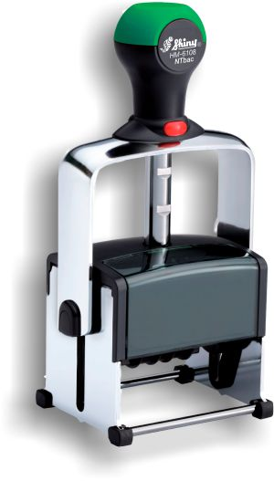 Shiny® Model HM-6108 Heavy Metal Self-Inking Dater